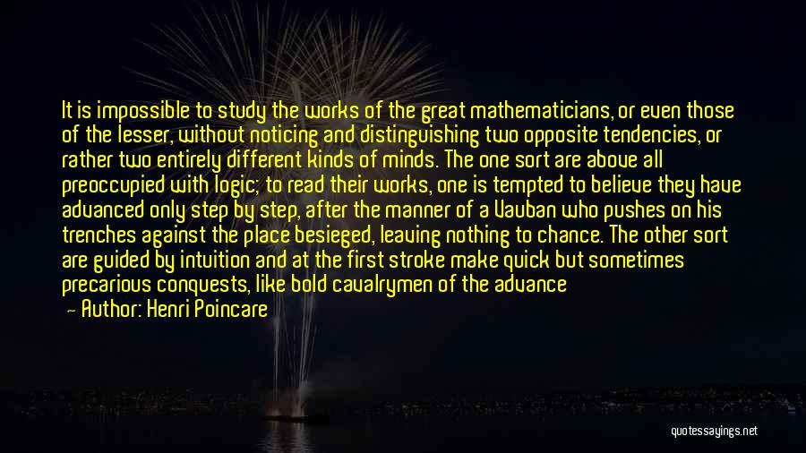 Besieged Quotes By Henri Poincare