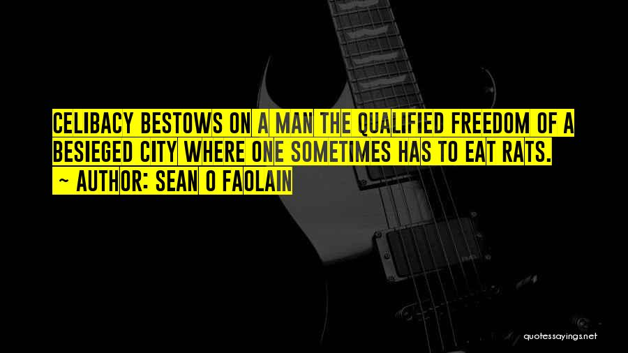 Besieged Quotes By Sean O Faolain