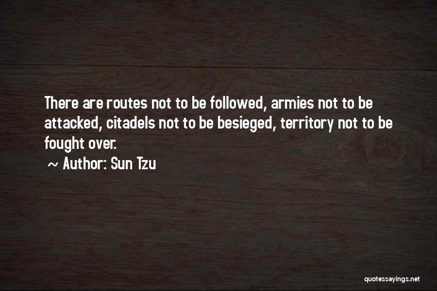 Besieged Quotes By Sun Tzu