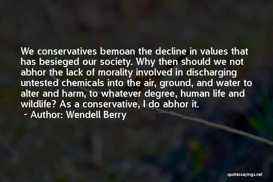 Besieged Quotes By Wendell Berry