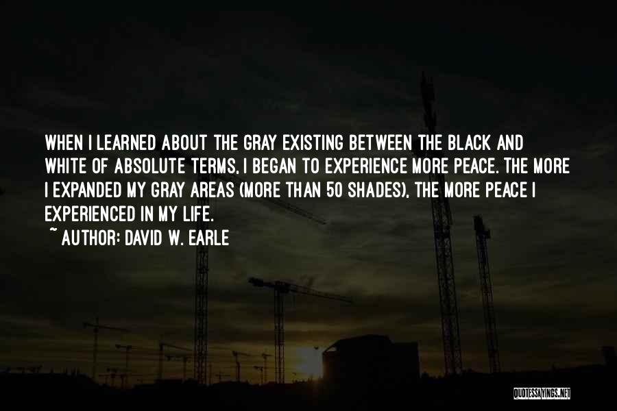 Best 50 Shades Quotes By David W. Earle