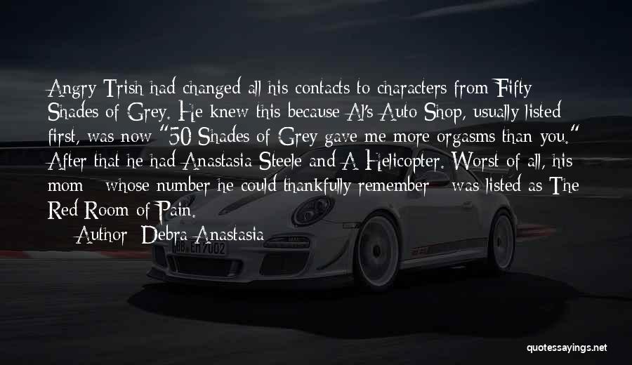Best 50 Shades Quotes By Debra Anastasia