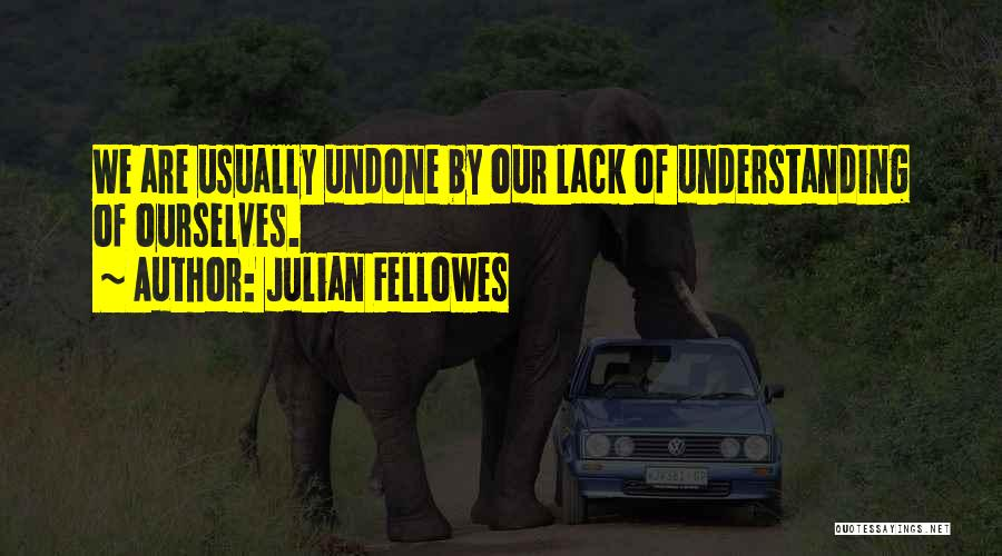 Best Advice For Life Quotes By Julian Fellowes