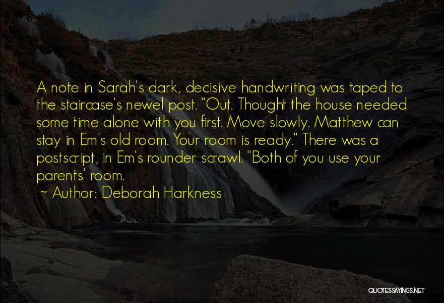 Best All Rounder Quotes By Deborah Harkness