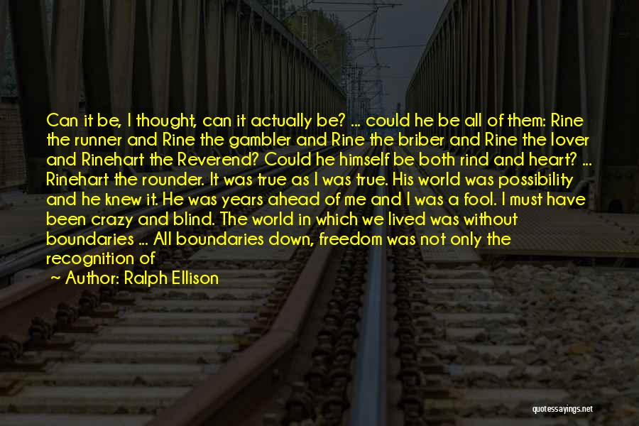Best All Rounder Quotes By Ralph Ellison
