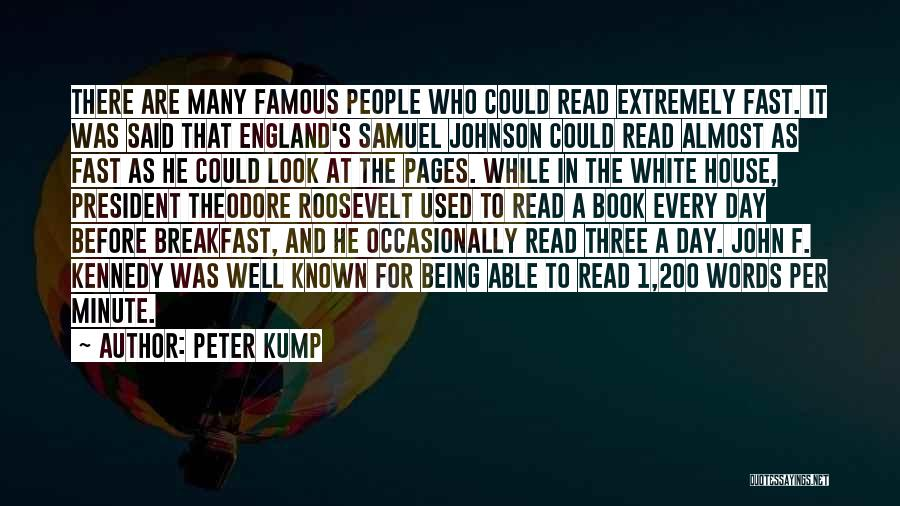 Best Almost Famous Quotes By Peter Kump
