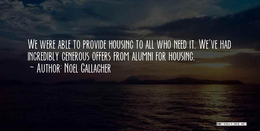 Best Alumni Quotes By Noel Gallagher