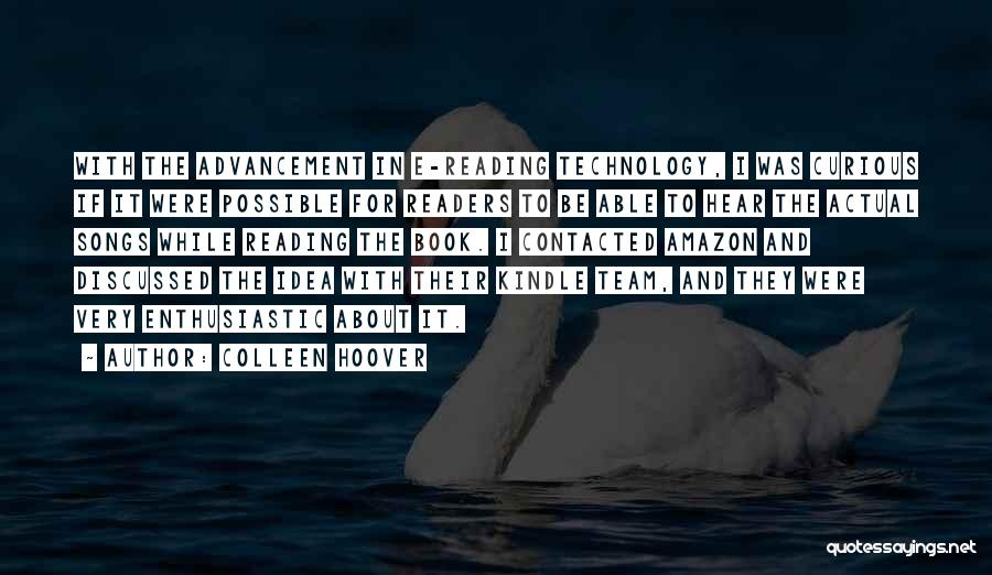 Best Amazon Quotes By Colleen Hoover