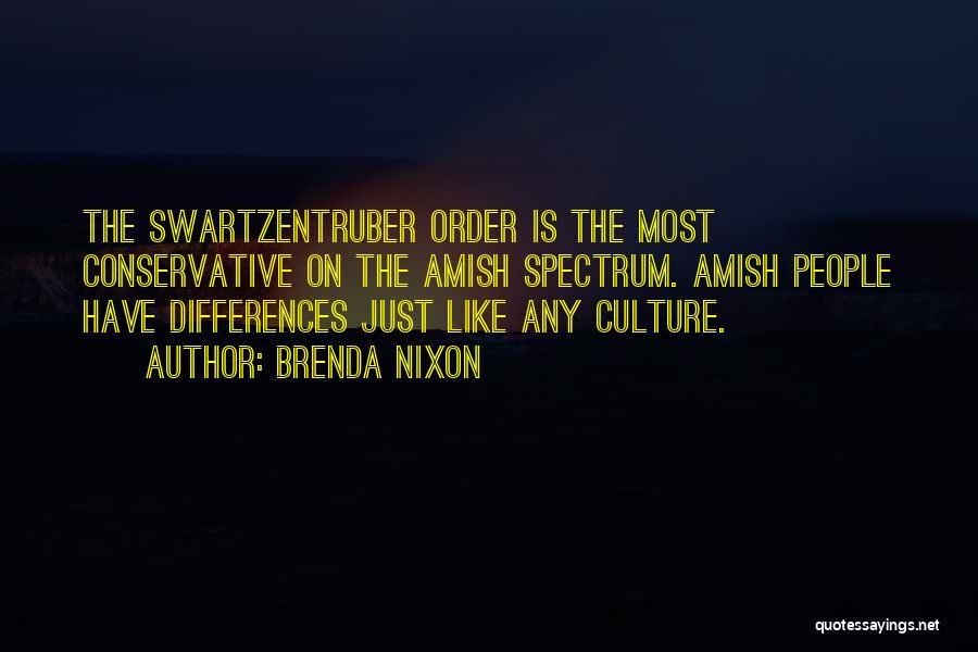 Best Amish Quotes By Brenda Nixon