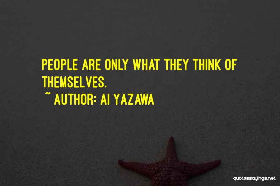 Best Anime Manga Quotes By Ai Yazawa