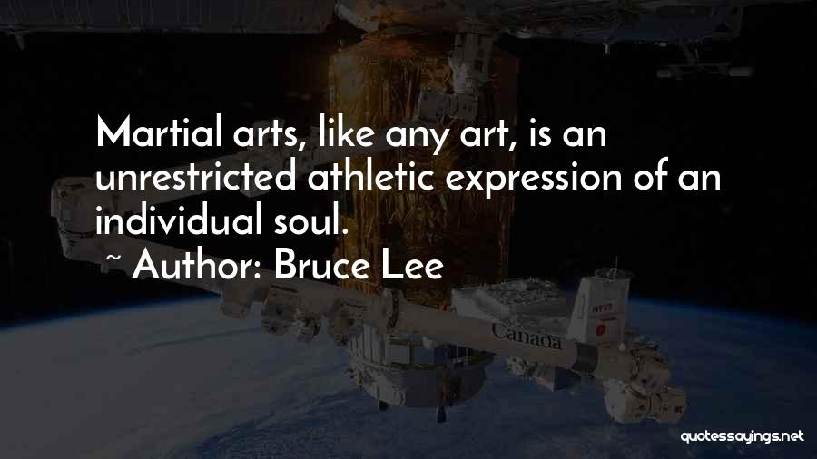 Best Athletic Quotes By Bruce Lee