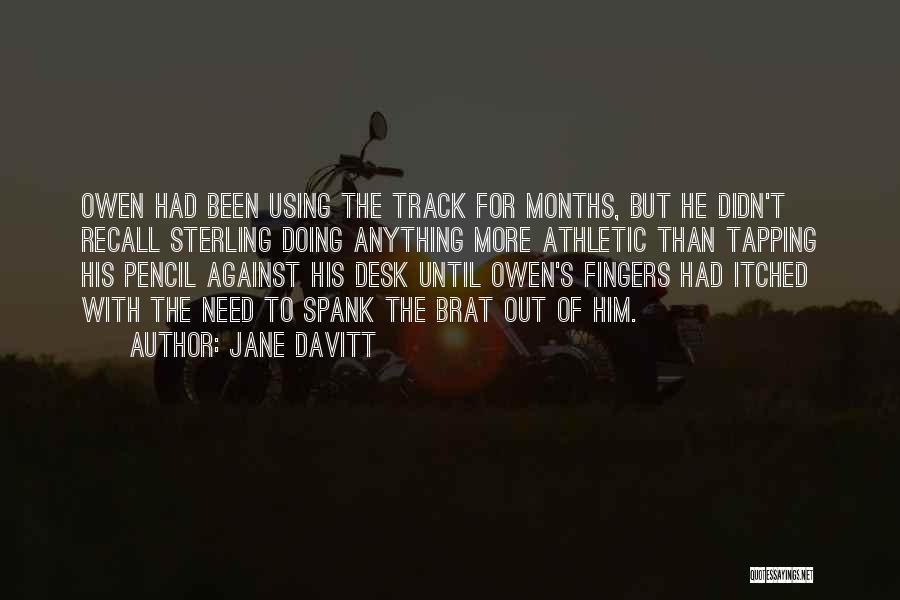 Best Athletic Quotes By Jane Davitt