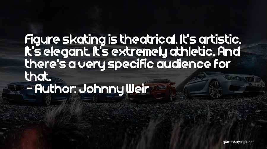 Best Athletic Quotes By Johnny Weir