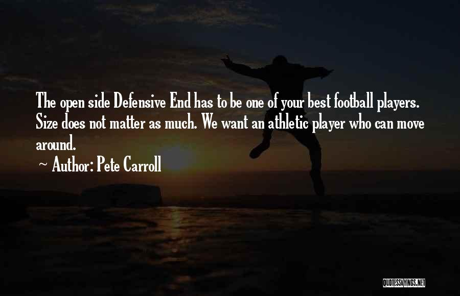 Best Athletic Quotes By Pete Carroll