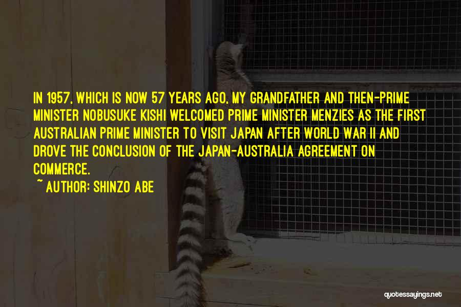 Best Australian Prime Minister Quotes By Shinzo Abe