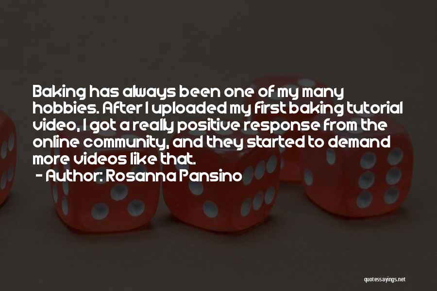 Best Baking Quotes By Rosanna Pansino