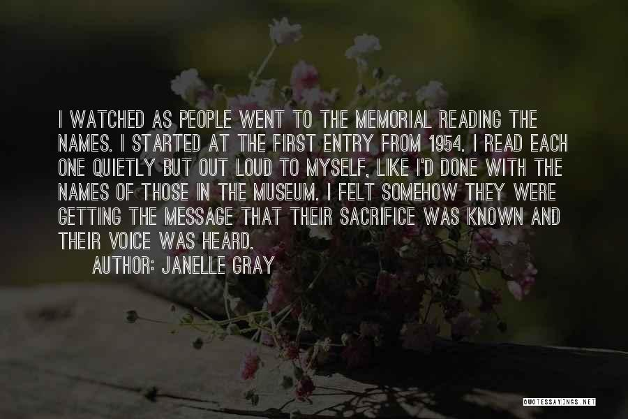 Best Black History Quotes By Janelle Gray