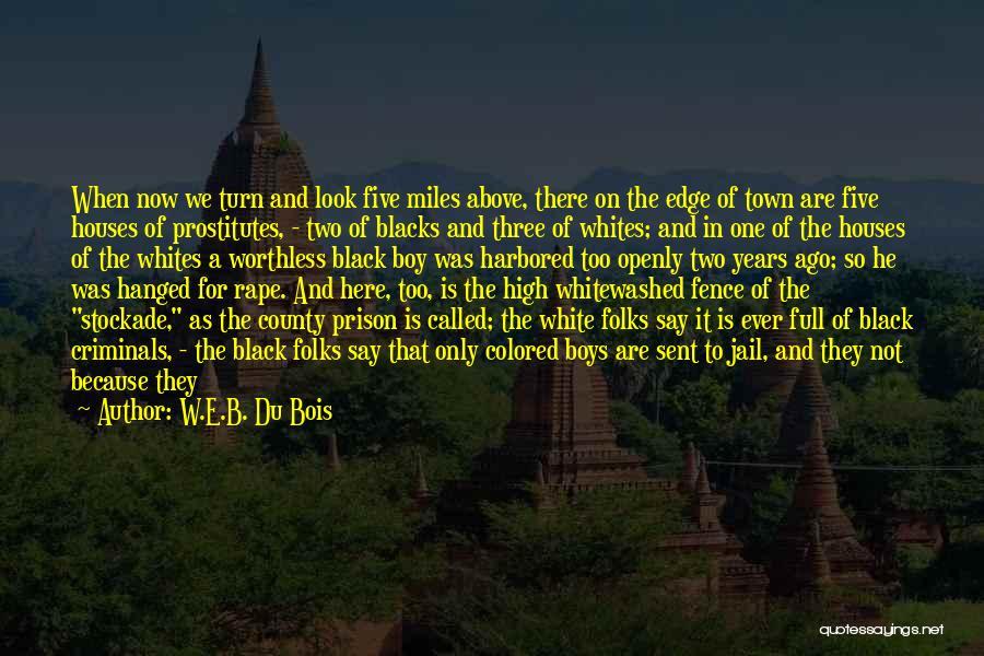 Best Black History Quotes By W.E.B. Du Bois