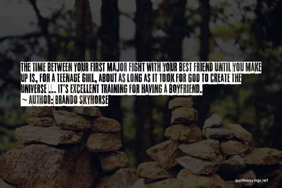 Best Boyfriend Long Quotes By Brando Skyhorse