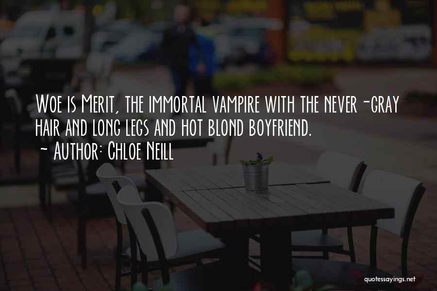 Best Boyfriend Long Quotes By Chloe Neill