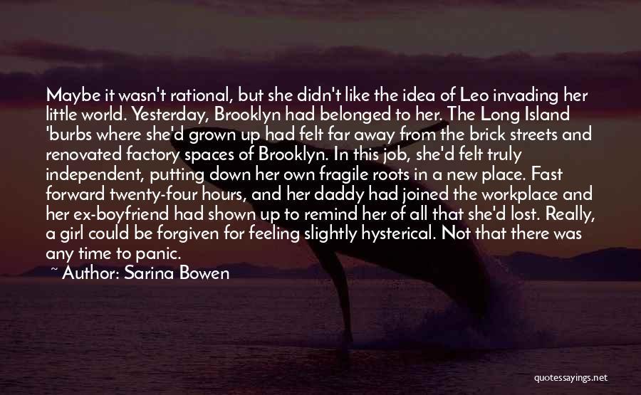 Best Boyfriend Long Quotes By Sarina Bowen