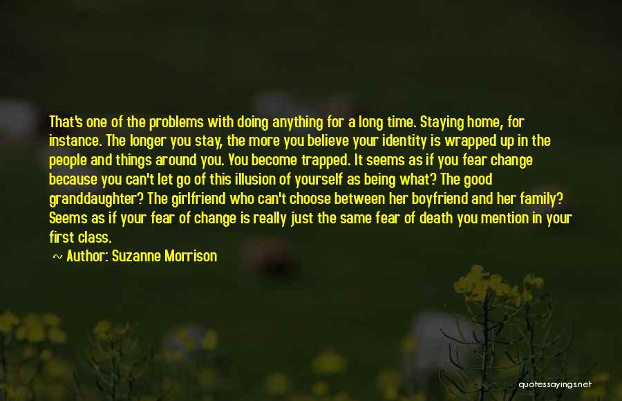 Best Boyfriend Long Quotes By Suzanne Morrison