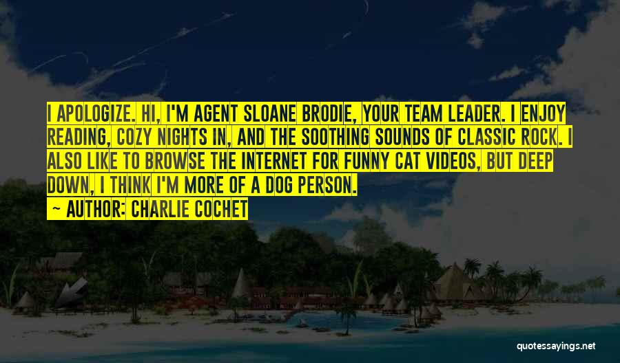 Best Brodie Quotes By Charlie Cochet