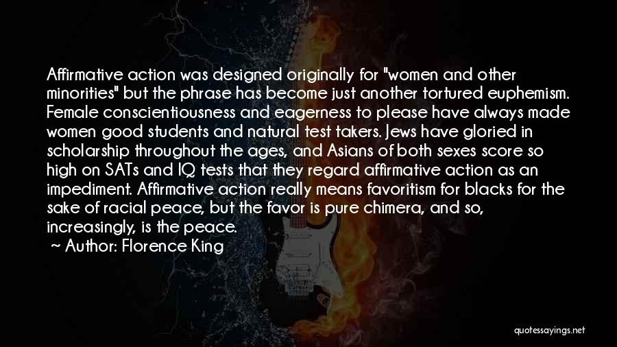 Best Chimera Quotes By Florence King