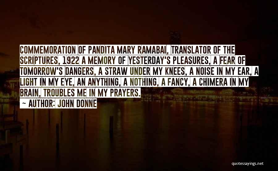 Best Chimera Quotes By John Donne