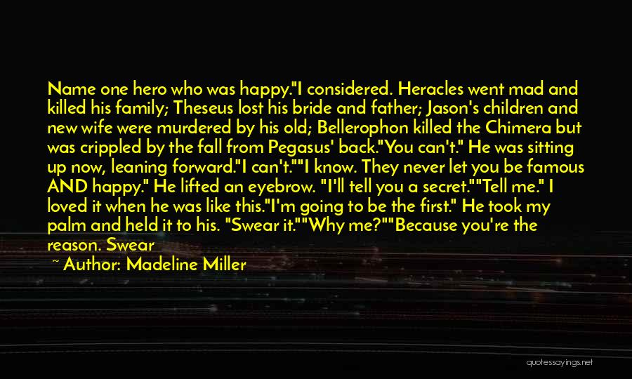 Best Chimera Quotes By Madeline Miller