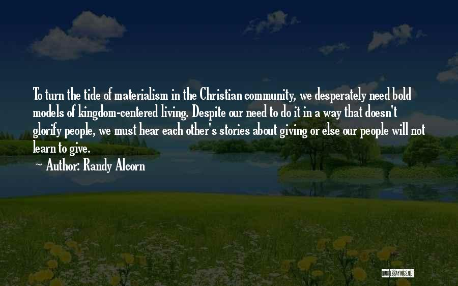Best Christian Encouragement Quotes By Randy Alcorn