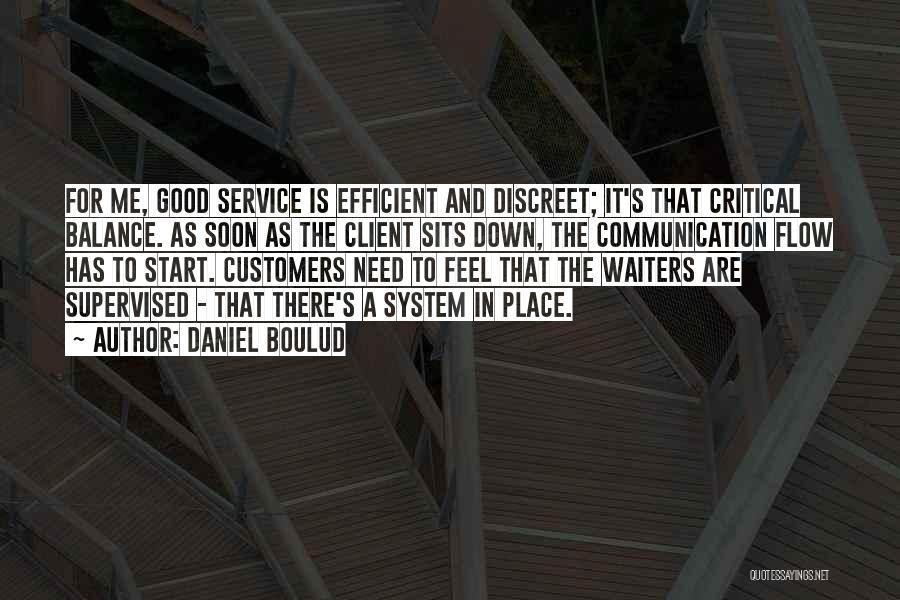 Best Client Service Quotes By Daniel Boulud