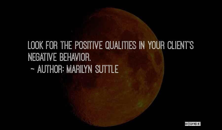 Best Client Service Quotes By Marilyn Suttle