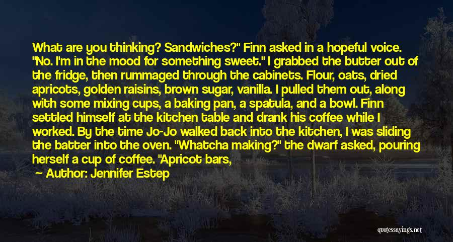 Best Coffee Cup Quotes By Jennifer Estep