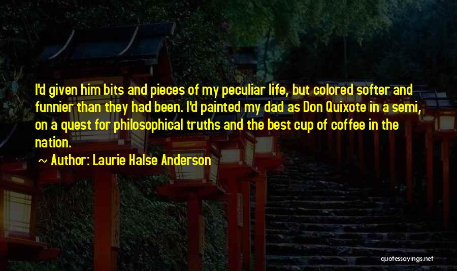 Best Coffee Cup Quotes By Laurie Halse Anderson