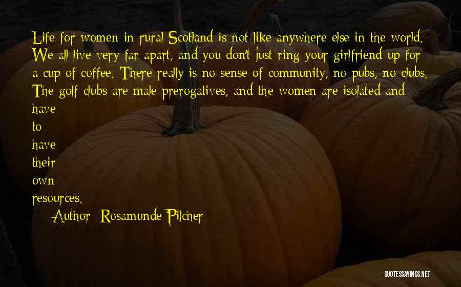 Best Coffee Cup Quotes By Rosamunde Pilcher