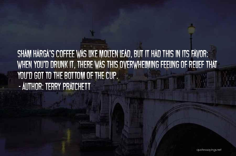 Best Coffee Cup Quotes By Terry Pratchett
