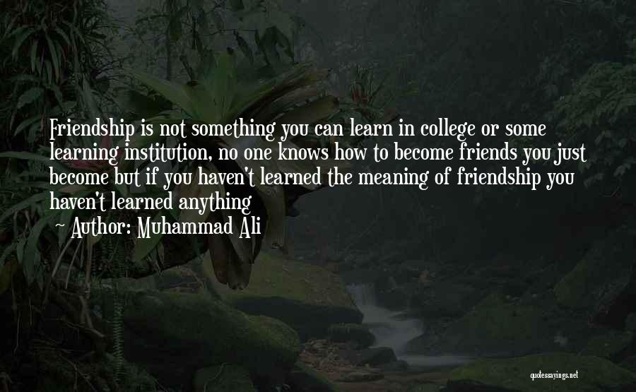 Top 18 Best College Friendship Quotes & Sayings