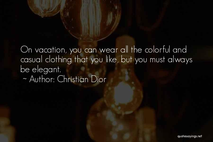 Best Colorful Quotes By Christian Dior