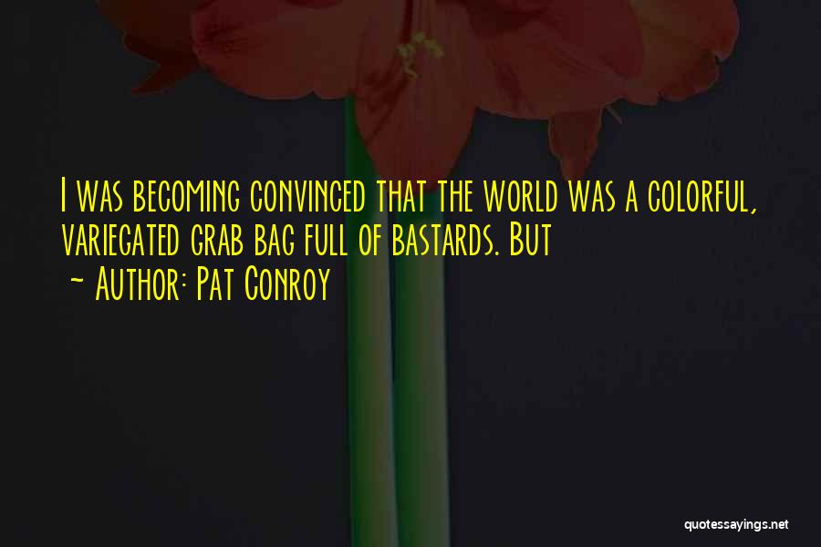 Best Colorful Quotes By Pat Conroy