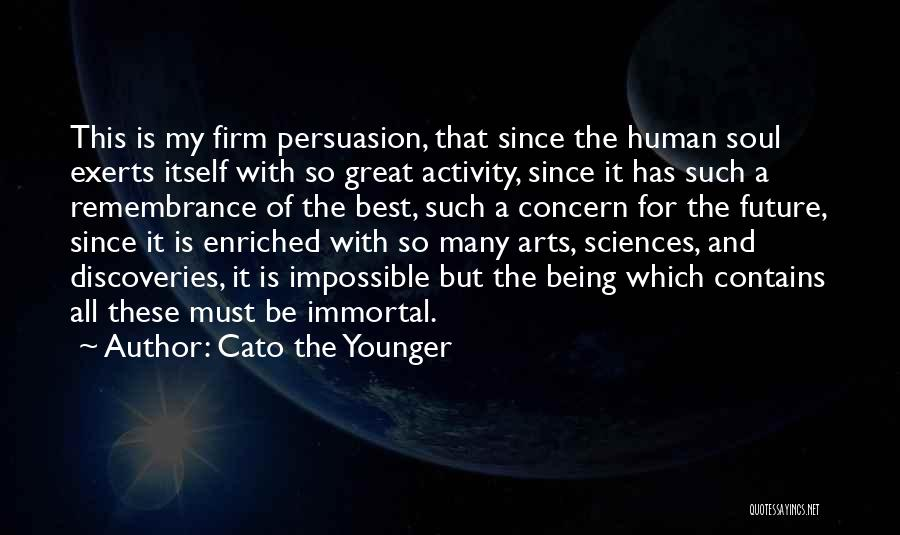 Best Concern Quotes By Cato The Younger