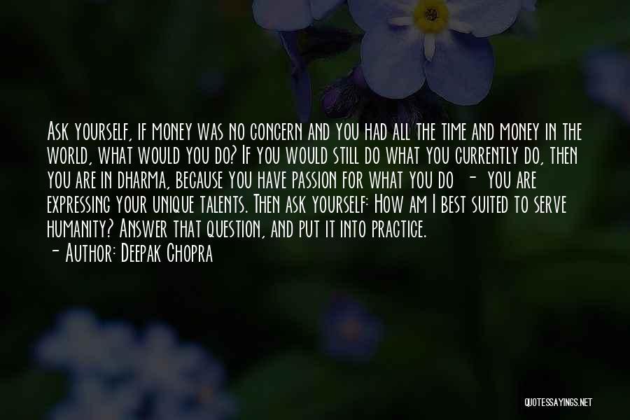 Best Concern Quotes By Deepak Chopra