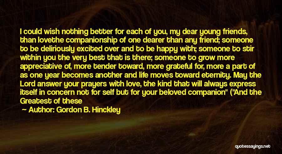 Best Concern Quotes By Gordon B. Hinckley