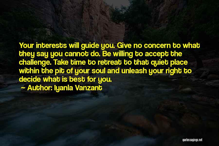 Best Concern Quotes By Iyanla Vanzant