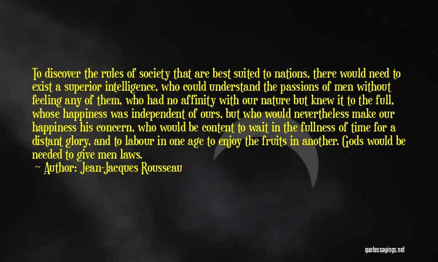 Best Concern Quotes By Jean-Jacques Rousseau