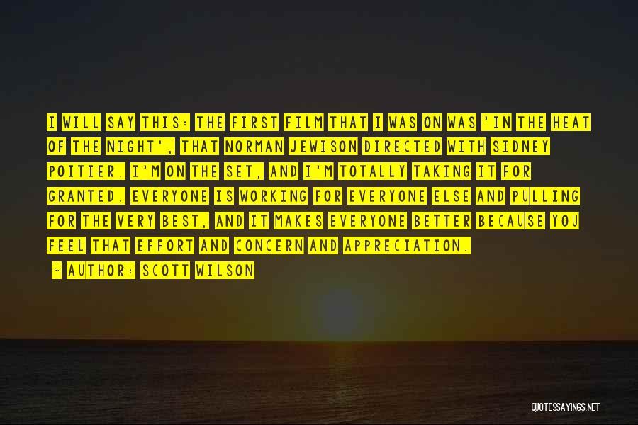 Best Concern Quotes By Scott Wilson