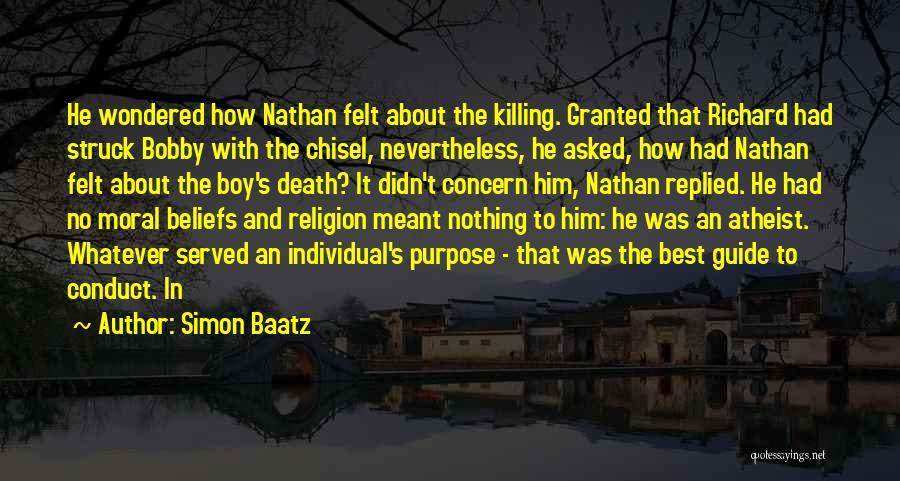 Best Concern Quotes By Simon Baatz