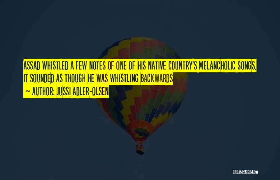 Best Country Songs Quotes By Jussi Adler-Olsen
