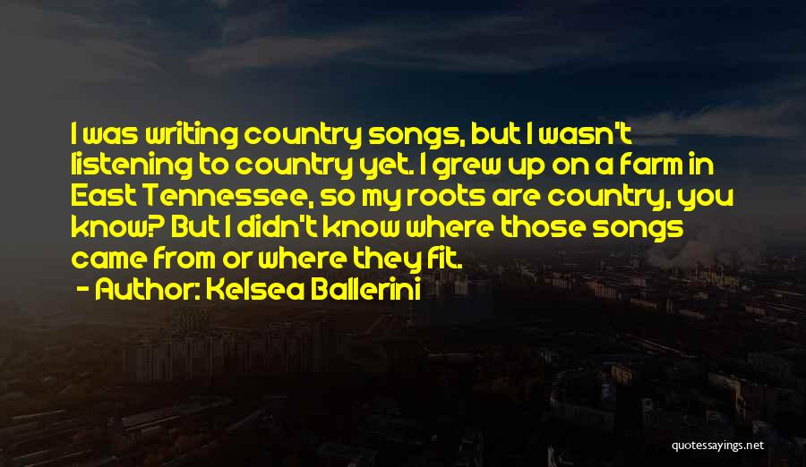 Best Country Songs Quotes By Kelsea Ballerini