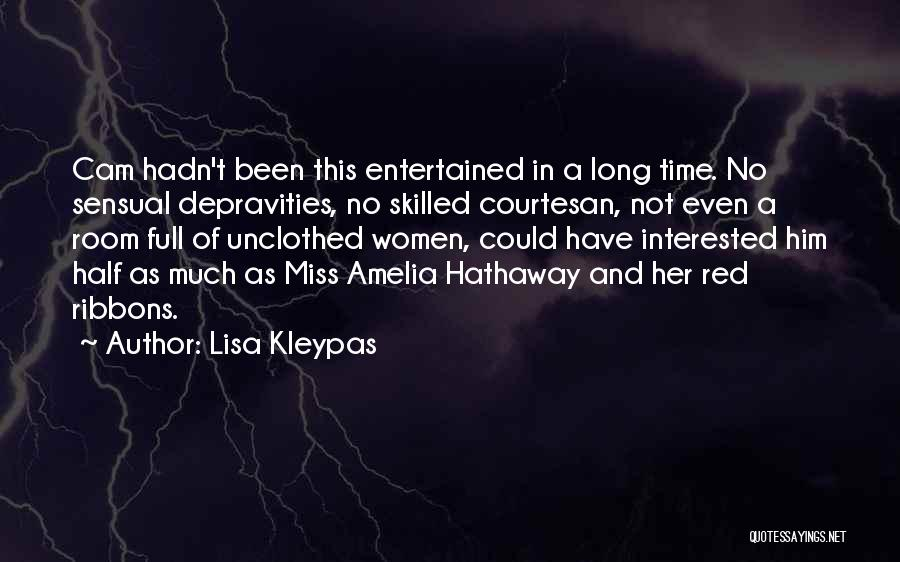 Best Courtesan Quotes By Lisa Kleypas